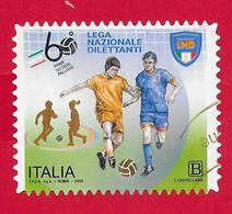 ITALIA REPUBBLICA USATO - 2019 - 60º Anniversario Dell'istituzione Della Lega Nazionale Dilettanti - Tar. B - S. ---- - 2011-...: Used