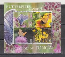 Tonga 2020 Butterflies Insects S/s MNH - Butterflies