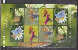 Rarotonga 2020 Butterflies Insects Klb MNH - Butterflies
