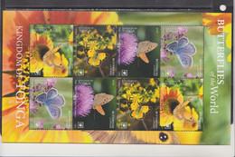 Tonga 2020 Butterflies Insects Klb MNH - Butterflies