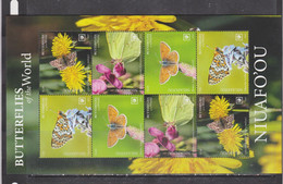 Niuafo'ou  2020 Butterflies Insects Klb MNH - Butterflies