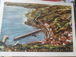 Illustrateur Larry  Elanchove Postal Pegada A Chirstmas 1958 - Vizcaya (Bilbao)