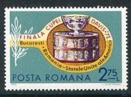 ROMANIA 1972 Final Of Davis Cup MNH / **.  Michel 3052 - Ungebraucht