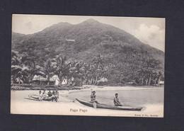 Oceanie Samoa Americaines Pago Pago (animée Pirogue Ed. Kerry & Co 44093) - American Samoa