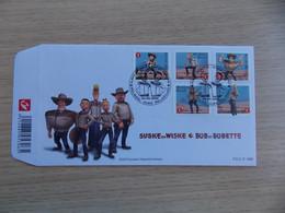 First Day Cover 2009 België Sucke En Wiske / Bob Et Bobette   FDC P 1656 - 2001-10