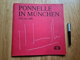 Oper: Ponelle In München 1952 Bis 1988 - Theatre & Scripts