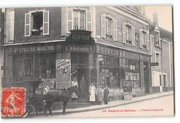 CPA 28 Nogent Le Rotrou Maison Fouchard Epicerie Felix Potin - Nogent Le Rotrou