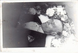 Post Mortem  - Older Man  Funeral  Vintage Photo  (A2) - Personas Anónimos