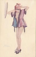 Thematiques Fantaisie Sexy Illustrateur A Cremieu Blondes Et Rousses - 1900-1949