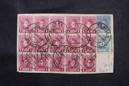 ESPAGNE - Affranchissement De Sévilla Sur Devant D'enveloppe En 1905 Dont Variété De Piquage - L 76149 - Cartas