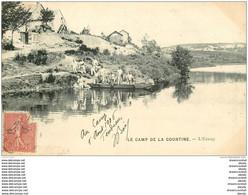 WW GUERRE. Camp Militaire De La Courtine. L'Etang 1906 - Guerra 1914-18