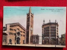 10 - CARTOLINA  PARMA - LA CATTEDRALE E IL BATTISTERO ED. MARCO - Parma