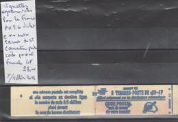 TIMBRES DE FRANÇE NEUF ** VIGNETTES EXPERIMENTALES POUR LA FRANÇE  Nr PA 26 VIOLET C**MNH CARNET DE 5 T   COTE   28  € - Gedenkmarken