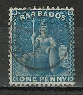Barbados SG 52, Mi 17C O - Barbados (...-1966)