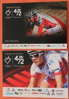 Cyclisme :  Nairo Quintana Et Sebastian Salazar , Equipe Columbia  472  En 2011 - Ciclismo