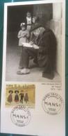 P3 - CARTE PREMIERE JOUR AVEC CACHET ET TIMBRE HANSI 1873 - 1951 - Non Classificati