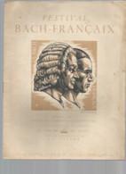 Vintage /old French Programm Theater Music 1942 // Programme Théâtre Musique Festival BACH FRANCAIX / 100 Exemplaires - Programs