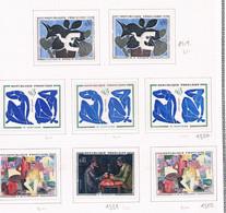 Curiosités N°1320,1321,1322 Neuf Avec Charnière Sur Page Pour étude - Curiosità: 1960-69  Nuovi
