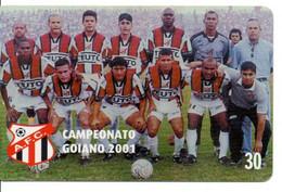 Sport  Football Soccer  Télécarte Brésil  Phonecard (D 996) - Sport