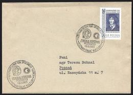 1965 Poland Copernicus, Astronomer. Poznan, International Year Of The Quiet Sun, 1964 Jagiellonian University - Astronomie
