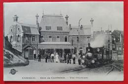 CP 59 CAMBRAI TRAIN Et GARE Du CAMBRESIS - Bahnhöfe Mit Zügen