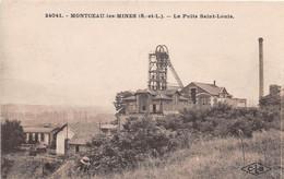 MONTCEAU LES MINES - Le Puits Saint-Louis - Montceau Les Mines