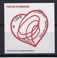 """FR Adhesif YT 649 """" Patch D'amour, Adeline André """" 2012 Neuf** - Sellos Autoadhesivos"""