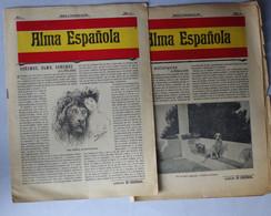 Journal Alma Esponola 8 Et 29 Novembre 1903 12 Pages (2 Journaux) - Unclassified