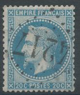 Lot N°59180  N°29A, Oblit GC 4217 Villars-lès-Dombes, Ain (1), Ind 6 - 1863-1870 Napoleon III With Laurels
