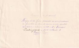 DDX997 - Enveloppe En Franchise Cachet à Etoiles BAARLE HERTOG 1915 -Texte Sur SMOKKELPOST -vers PANNE Via PMB - Other Zones