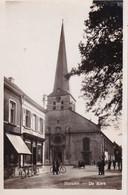 Hamme - De Kerk En Omgeving - Lits Real Photo - Kerken En Kathedralen
