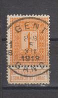 COB 108 Oblitération Centrale GENT - GAND 1B - 1912 Pellens