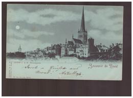 Souvenir De Reval Avnsicht V. D. Kl. Strandpforte1898 Old Postcard - Estland