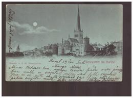 Souvenir De Reval Avnsicht V. D. Kl. Strandpforte Ver 2- 1900 Old Postcard - Estland