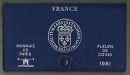 COFFRET VIDE FDC 1981 . - Z. FDC