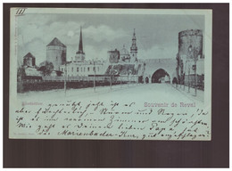Souvenir De Reval Klosterthor 1898 Old Postcard - Estland