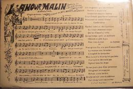 136 - PARTITION DE LA CHANSON L'AMOUR MALIN - HIRWATHA - Muziek En Musicus