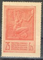 Sello Viñeta Pro Placa Republica Catalana, TIBIDABO 25 Cts,  Guerra Civil * - Viñetas De La Guerra Civil