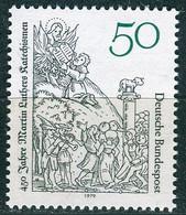 BRD - Mi 1016 ✶✶ # - 50Pf  450 Jahre Katechismus Von Martin Luther - Unused Stamps