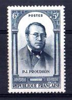 FRANCE Yvert N° 799 Pierre-Joseph PROUDHON Neuf - Sonstige
