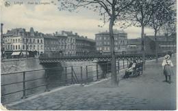 LIEGE : Pont De Longdoz - TRES RARE VARIANTE - Nels Série Liège N° 158 - Liege
