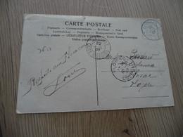 Sur CPA Côte D'Ivoire Type Sage Colonies Cachet Bleu Toumodi 1907 Souvenir De Tiassalé - Storia Postale