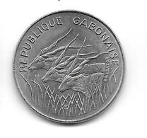 Gabon. 100 Francs 1984 (623) - Gabon