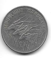 Gabon. 100 Francs 1972 (629) - Gabon