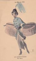 Illustrateur RENE - LA MODE EN 1915 - LA GARDE CIVIQUE- Nos  Bleus - (lot Pat 125/1) - Otros Ilustradores