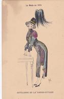 Illustrateur RENE - LA MODE EN 1915 - ARTILLERIE DE LA GARDE CIVIQUE-  (lot Pat 125/1) - Otros Ilustradores