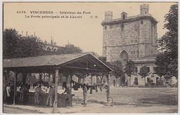 94 - B12615CPA - VINCENNES - Interieur Du Fort Porte Et Lavoir - Parfait état - VAL-DE-MARNE - Vincennes