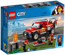 Lego City - LE CAMION DU CHEF DES POMPIERS Réf. 60231 Neuf - Zonder Classificatie
