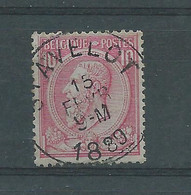 N°46 OBLITERE HOLLOGNE STAVELOT - 1883 Leopold II
