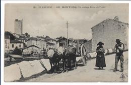 MONTCUQ - Un Attelage Route Du Pontet - Montcuq